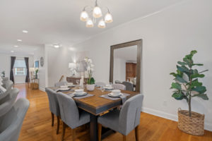 813 N Ringgold dining room
