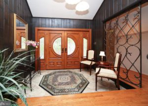 montgomery county single family home entryway