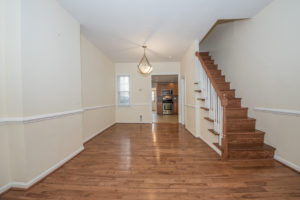fairmount townhome for sale living room
