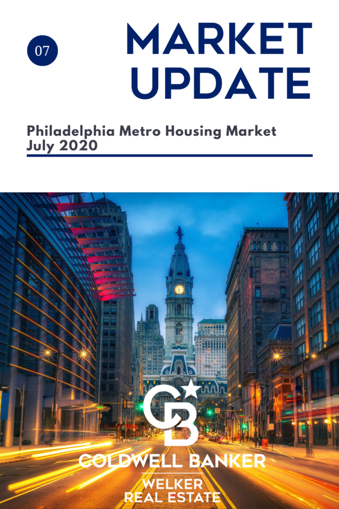Phila Metro Housing Market Update July 2020