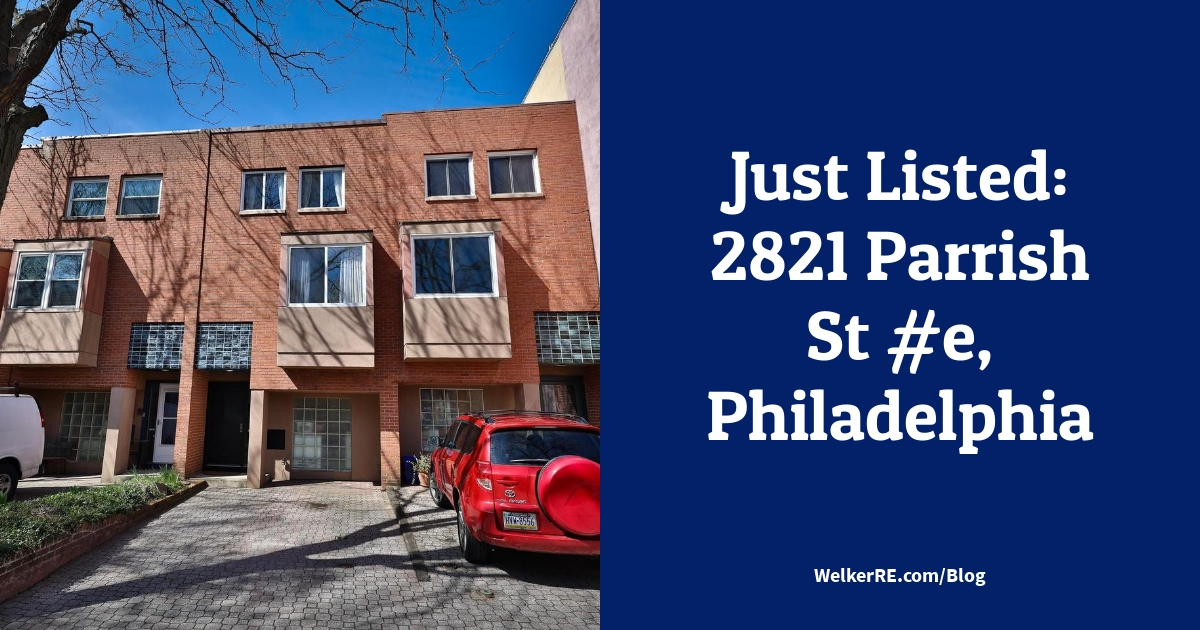 Just Listed: 2821 Parrish St #e, Philadelphia