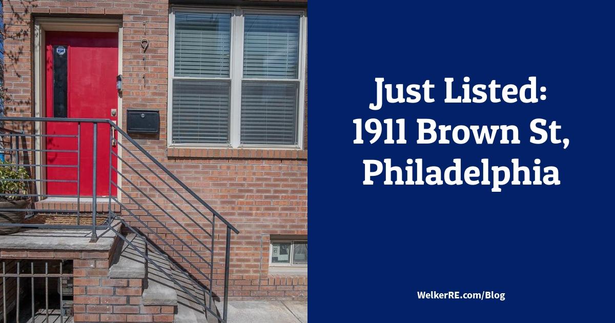 Just Listed: 1911 Brown St, Philadelphia